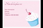 Petit gâteau aux cerises Badges - gabarit prédéfini. <br/>Utilisez notre logiciel Avery Design & Print Online pour personnaliser facilement la conception.