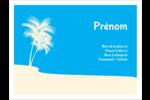 Palm Beach Étiquettes badges autocollants - gabarit prédéfini. <br/>Utilisez notre logiciel Avery Design & Print Online pour personnaliser facilement la conception.