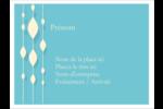 Rideau de perles bleues Badges - gabarit prédéfini. <br/>Utilisez notre logiciel Avery Design & Print Online pour personnaliser facilement la conception.