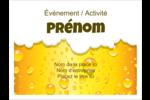 Image de bière Badges - gabarit prédéfini. <br/>Utilisez notre logiciel Avery Design & Print Online pour personnaliser facilement la conception.