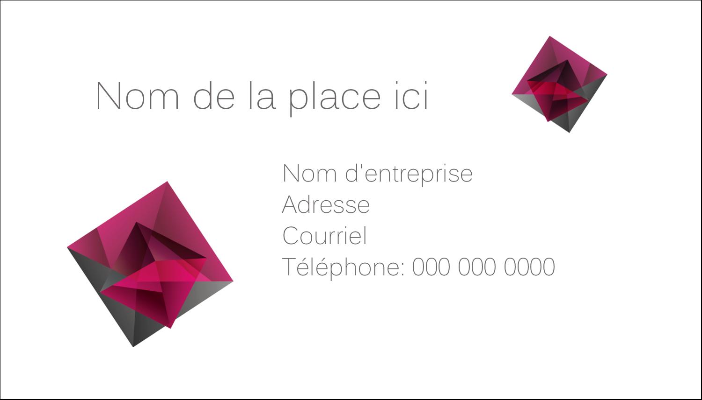"""2"""" x 3½"""" Carte d'affaire - Pierres de rubis"""