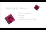 Pierres de rubis  Carte d'affaire - gabarit prédéfini. <br/>Utilisez notre logiciel Avery Design & Print Online pour personnaliser facilement la conception.