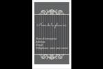 Papier peint gothique Cartes d'affaires - gabarit prédéfini. <br/>Utilisez notre logiciel Avery Design & Print Online pour personnaliser facilement la conception.