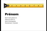 Ruban à mesurer Étiquettes à codage couleur - gabarit prédéfini. <br/>Utilisez notre logiciel Avery Design & Print Online pour personnaliser facilement la conception.