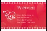Dessin de la Saint-Valentin Étiquettes à codage couleur - gabarit prédéfini. <br/>Utilisez notre logiciel Avery Design & Print Online pour personnaliser facilement la conception.