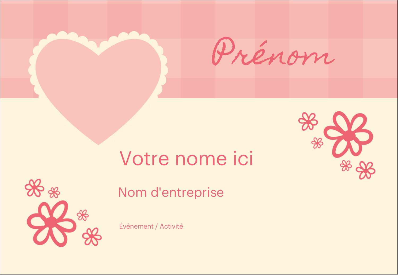 """1¼"""" Étiquettes à codage couleur - Guingan de la Saint-Valentin"""