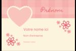 Guingan de la Saint-Valentin Étiquettes à codage couleur - gabarit prédéfini. <br/>Utilisez notre logiciel Avery Design & Print Online pour personnaliser facilement la conception.