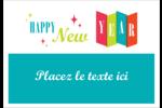Vœux du nouvel an rétro Badges - gabarit prédéfini. <br/>Utilisez notre logiciel Avery Design & Print Online pour personnaliser facilement la conception.