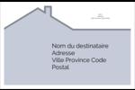 Construction de maison Étiquettes d'adresse - gabarit prédéfini. <br/>Utilisez notre logiciel Avery Design & Print Online pour personnaliser facilement la conception.