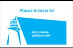 Phare bleu Étiquettes d'expédition - gabarit prédéfini. <br/>Utilisez notre logiciel Avery Design & Print Online pour personnaliser facilement la conception.
