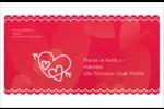 Dessin de la Saint-Valentin Étiquettes d'adresse - gabarit prédéfini. <br/>Utilisez notre logiciel Avery Design & Print Online pour personnaliser facilement la conception.
