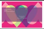 Rang de cœurs de la Saint-Valentin Étiquettes d'adresse - gabarit prédéfini. <br/>Utilisez notre logiciel Avery Design & Print Online pour personnaliser facilement la conception.