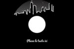 Ville nocturne Étiquettes Pour Médias - gabarit prédéfini. <br/>Utilisez notre logiciel Avery Design & Print Online pour personnaliser facilement la conception.