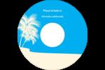 Palm Beach Étiquettes Pour Médias - gabarit prédéfini. <br/>Utilisez notre logiciel Avery Design & Print Online pour personnaliser facilement la conception.