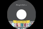 Rayons de bibliothèque Étiquettes Pour Médias - gabarit prédéfini. <br/>Utilisez notre logiciel Avery Design & Print Online pour personnaliser facilement la conception.
