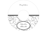 Gribouillis Étiquettes Pour Médias - gabarit prédéfini. <br/>Utilisez notre logiciel Avery Design & Print Online pour personnaliser facilement la conception.