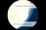 Vague bleue Étiquettes de classement - gabarit prédéfini. <br/>Utilisez notre logiciel Avery Design & Print Online pour personnaliser facilement la conception.