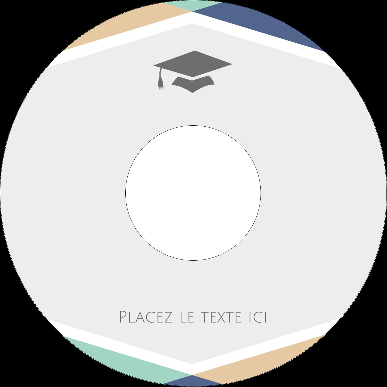 """⅔"""" x 3-7/16"""" Étiquettes de classement - Diplômes et couleurs"""