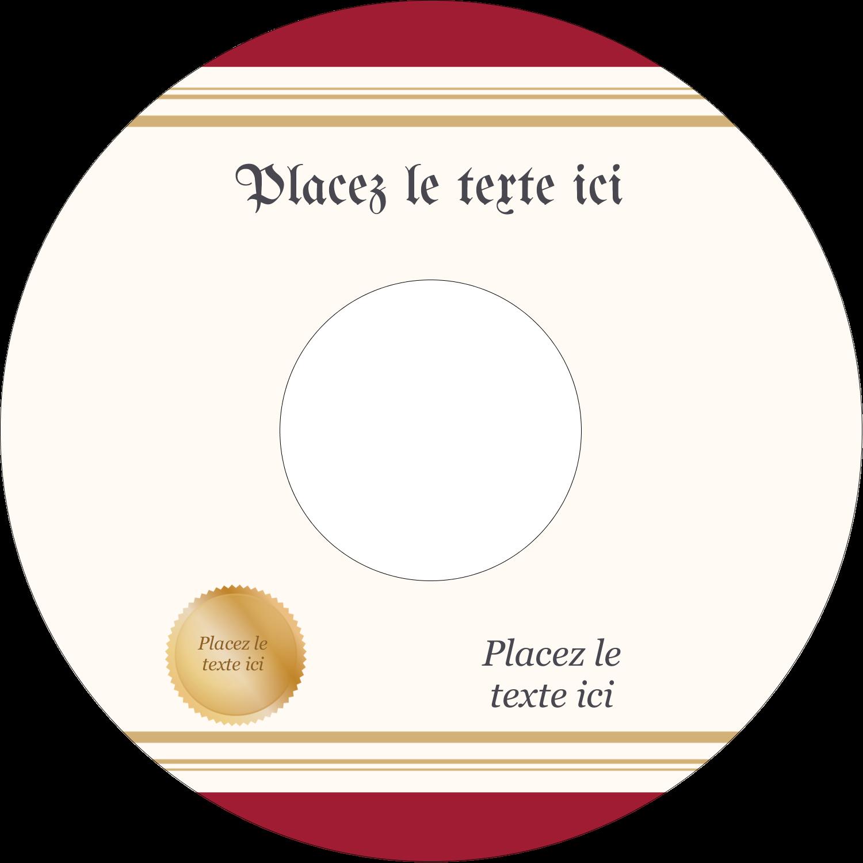 """⅔"""" x 3-7/16"""" Étiquettes de classement - Diplôme d'études"""