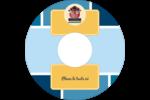 Hibou diplômé Étiquettes de classement - gabarit prédéfini. <br/>Utilisez notre logiciel Avery Design & Print Online pour personnaliser facilement la conception.
