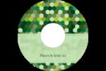 Hexagones verts Étiquettes Pour Médias - gabarit prédéfini. <br/>Utilisez notre logiciel Avery Design & Print Online pour personnaliser facilement la conception.