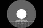 Papier peint gothique Étiquettes Pour Médias - gabarit prédéfini. <br/>Utilisez notre logiciel Avery Design & Print Online pour personnaliser facilement la conception.