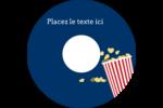 Popcorn et film Étiquettes de classement - gabarit prédéfini. <br/>Utilisez notre logiciel Avery Design & Print Online pour personnaliser facilement la conception.