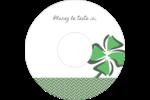 Trèfle de la Saint-Patrick Étiquettes de classement - gabarit prédéfini. <br/>Utilisez notre logiciel Avery Design & Print Online pour personnaliser facilement la conception.