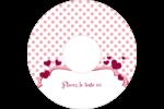 Bulles de Saint-Valentin Étiquettes de classement - gabarit prédéfini. <br/>Utilisez notre logiciel Avery Design & Print Online pour personnaliser facilement la conception.