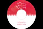 Dessin de la Saint-Valentin Étiquettes de classement - gabarit prédéfini. <br/>Utilisez notre logiciel Avery Design & Print Online pour personnaliser facilement la conception.