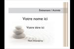 Pierres superposées Badges - gabarit prédéfini. <br/>Utilisez notre logiciel Avery Design & Print Online pour personnaliser facilement la conception.