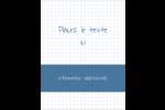 Papier graphique bleu Reliures - gabarit prédéfini. <br/>Utilisez notre logiciel Avery Design & Print Online pour personnaliser facilement la conception.