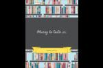 Rayons de bibliothèque Reliures - gabarit prédéfini. <br/>Utilisez notre logiciel Avery Design & Print Online pour personnaliser facilement la conception.