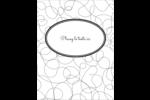Gribouillis Reliures - gabarit prédéfini. <br/>Utilisez notre logiciel Avery Design & Print Online pour personnaliser facilement la conception.