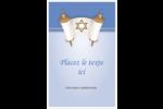 Rouleau de la Torah Cartes Et Articles D'Artisanat Imprimables - gabarit prédéfini. <br/>Utilisez notre logiciel Avery Design & Print Online pour personnaliser facilement la conception.