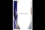 Prisme de verre Reliures - gabarit prédéfini. <br/>Utilisez notre logiciel Avery Design & Print Online pour personnaliser facilement la conception.