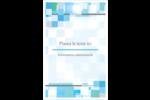Carrés pixélisés Reliures - gabarit prédéfini. <br/>Utilisez notre logiciel Avery Design & Print Online pour personnaliser facilement la conception.