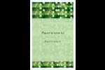Hexagones verts Cartes Et Articles D'Artisanat Imprimables - gabarit prédéfini. <br/>Utilisez notre logiciel Avery Design & Print Online pour personnaliser facilement la conception.