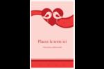 Oiseaux amoureux Reliures - gabarit prédéfini. <br/>Utilisez notre logiciel Avery Design & Print Online pour personnaliser facilement la conception.
