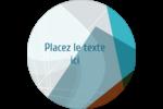 Architecte moderne Étiquettes Voyantes - gabarit prédéfini. <br/>Utilisez notre logiciel Avery Design & Print Online pour personnaliser facilement la conception.