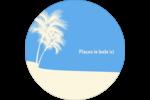 Palm Beach Étiquettes Voyantes - gabarit prédéfini. <br/>Utilisez notre logiciel Avery Design & Print Online pour personnaliser facilement la conception.