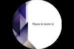 Prisme de verre Étiquettes Voyantes - gabarit prédéfini. <br/>Utilisez notre logiciel Avery Design & Print Online pour personnaliser facilement la conception.