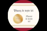 Diplôme d'études Étiquettes Voyantes - gabarit prédéfini. <br/>Utilisez notre logiciel Avery Design & Print Online pour personnaliser facilement la conception.