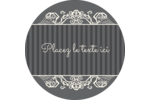 Papier peint gothique Étiquettes Voyantes - gabarit prédéfini. <br/>Utilisez notre logiciel Avery Design & Print Online pour personnaliser facilement la conception.