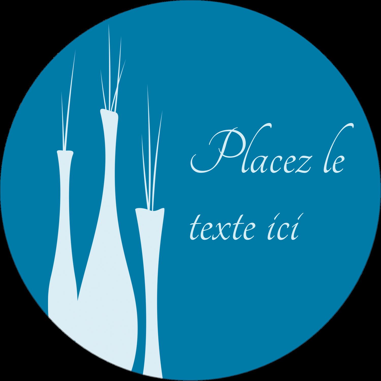 """2¼"""" x ¾"""" Étiquettes Voyantes - Vase design d'intérieur"""