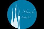 Vase design d'intérieur Étiquettes Voyantes - gabarit prédéfini. <br/>Utilisez notre logiciel Avery Design & Print Online pour personnaliser facilement la conception.