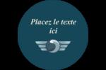 Ailes de limousine Étiquettes Voyantes - gabarit prédéfini. <br/>Utilisez notre logiciel Avery Design & Print Online pour personnaliser facilement la conception.