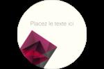 Pierres de rubis  Étiquettes Voyantes - gabarit prédéfini. <br/>Utilisez notre logiciel Avery Design & Print Online pour personnaliser facilement la conception.