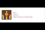 Croisillon religieux Étiquettes Polyvalentes - gabarit prédéfini. <br/>Utilisez notre logiciel Avery Design & Print Online pour personnaliser facilement la conception.