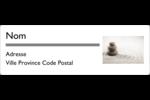 Pierres superposées Étiquettes Polyvalentes - gabarit prédéfini. <br/>Utilisez notre logiciel Avery Design & Print Online pour personnaliser facilement la conception.